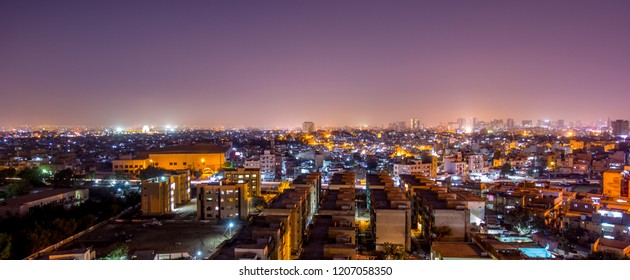 beautiful Karachi Skyline