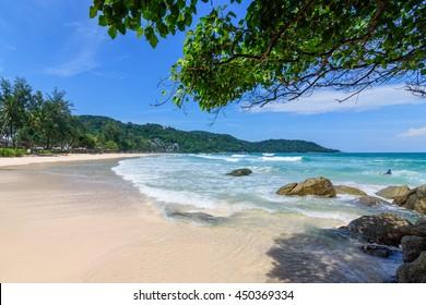Beautiful Kata noi beach Phuket Thailand.