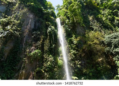 Beautiful Katibawasan waterfall on Camiguin Island in the Philippines