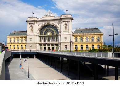 The beautiful Keleti Railway Station