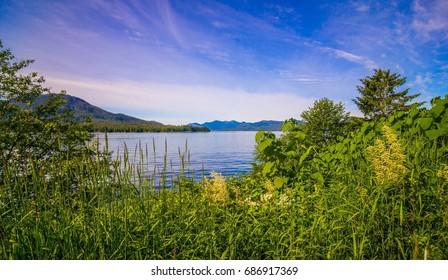 beautiful ketchikan alaska mountain range landscapes