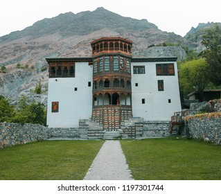 Beautiful Khaplu palace in Skardu, Pakistan