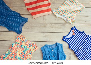 2a10d91c1 Baby Clothes Lying On Floor Winter Stock Photo (Edit Now) 334597292 ...
