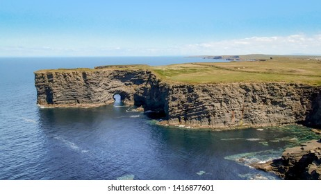Beautiful Kilkee Cliffs at the west coast of Ireland - travel photography