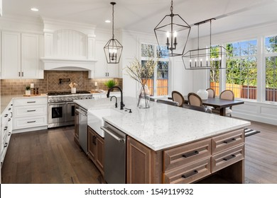 Traditional Kitchen Design High Res Stock Images Shutterstock