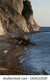 beautiful møns Klint chalk coast