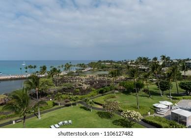 Beautiful Kohala coast on the Big Island of Hawaii
