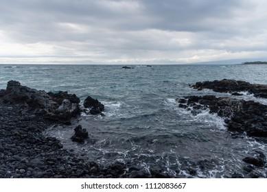 Beautiful Kohala coast vista on the Big Island of Hawaii
