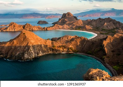 The beautiful Komodo island in Indonesia