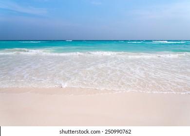Beautiful lagoon beach on the tropical island paradise of Koh Tachai, Similan National Park, Thailand