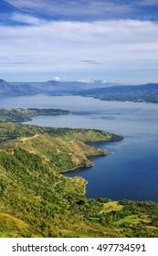 beautiful lake To ba north sumatra indonesia