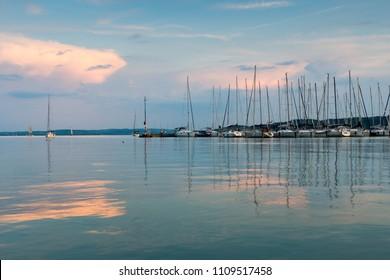beautiful lake Balaton