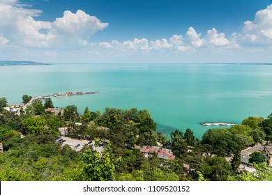 Beautiful lake Balaton Tihany