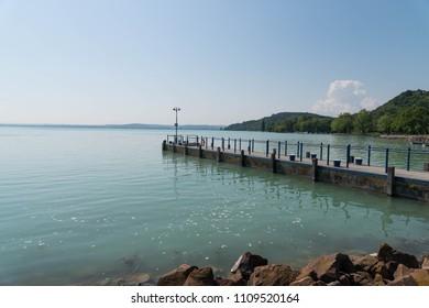 Beautiful lake Balaton Tihany