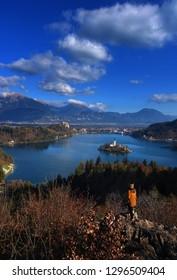 Beautiful Lake Bled, Slovenia