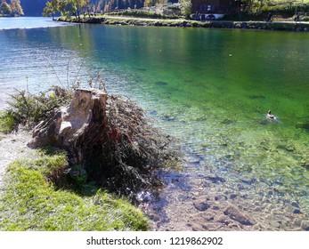Beautiful lake in Germany, Königssee, 2017