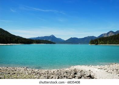 Beautiful lake in Germany
