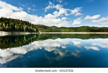 Beautiful lake in mountain 4