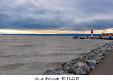 Beautiful Lake Neusiedl ( (Podersdorf am See,Ferto-to hungarian name), Burgenland-Austria