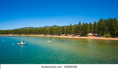 Beautiful Lake Tahoe, California.