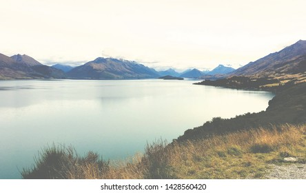 Beautiful Lakes in New Zealand