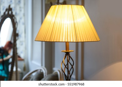 beautiful Lampshade in bedroom