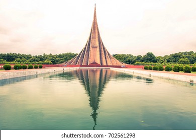 Beautiful landmark National Martyrs' Memorial, Dhaka, Bangladesh - Landscape Photography
