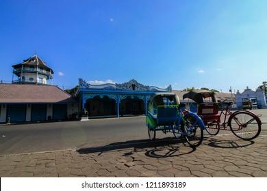 Beautiful Landmark Solo Palace, Kraton Solo, Solo, Jawa Tengah Indonesia / Kraton Kasunanan Surakarta, Central Java Indonesia