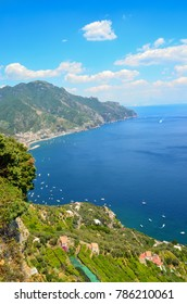 A beautiful landscape in the Amalfi Coast in Italy
