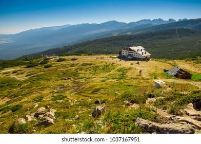 Beautiful landscape in the area of The Seven Rila Lakes, Bulgaria