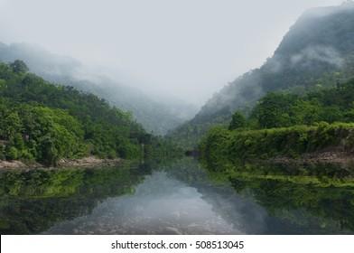 Beautiful landscape in bangladesh