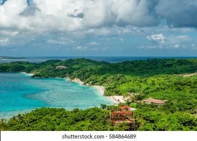 Beautiful landscape at Boracay island, Philippines.