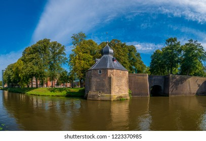 Beautiful landscape of Breda, a city located in the province of North Brabant.