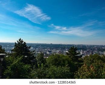 Beautiful landscape of city Lvov, Ukraine.