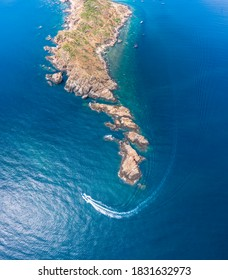 Beautiful landscape in Eo Gio, Quy Nhon, Vietnam from above. Travel and landscape concept - Shutterstock ID 1831632973