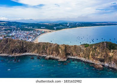 Beautiful landscape in Eo Gio, Quy Nhon, Vietnam from above. Travel and landscape concept - Shutterstock ID 1831632982