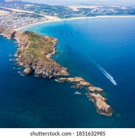 Beautiful landscape in Eo Gio, Quy Nhon, Vietnam from above. Travel and landscape concept - Shutterstock ID 1831632985