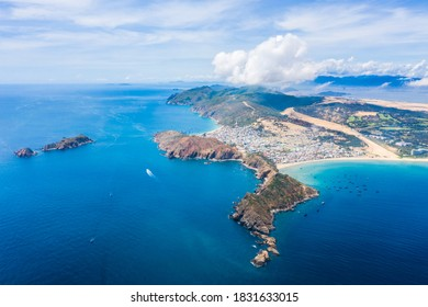 Beautiful landscape in Eo Gio, Quy Nhon, Vietnam from above. Travel and landscape concept - Shutterstock ID 1831633015