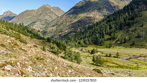 Beautiful Landscape in the High Pyrenees in Pallars Sobira, Catalonia