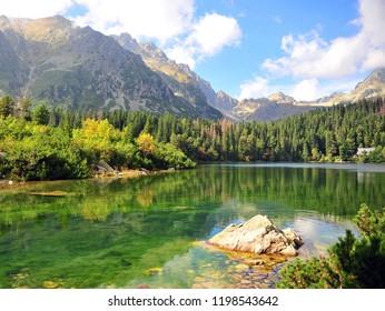 Beautiful landscape in High Tatras national park, Liptov, Slovakia