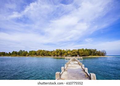 Beautiful Landscape of Hoga Island Indonesia