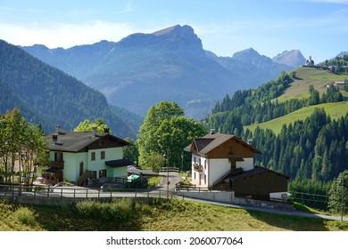 Beautiful landscape of Italian dolomites near Selva di Cadore, Italy, Europe