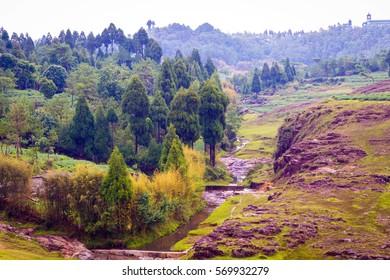 Beautiful landscape in Khasi Hills, India, Asia, Shillong