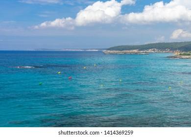 Beautiful Landscape in Menorca , Balearic Islands, Spain