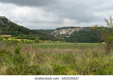 Beautiful Landscape in Menorca, Spain