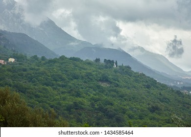 beautiful landscape in the Montenegro