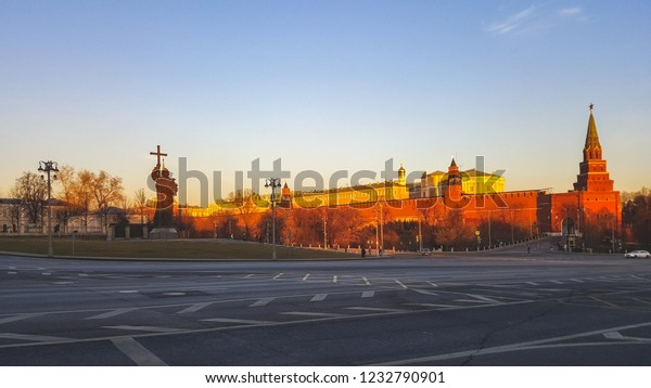 Beautiful landscape of Moscow