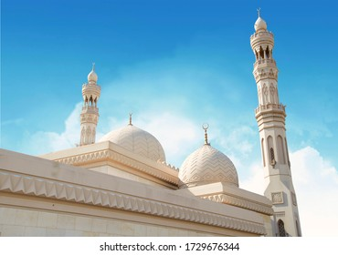 Beautiful Landscape mosque, Islamic background Mosque