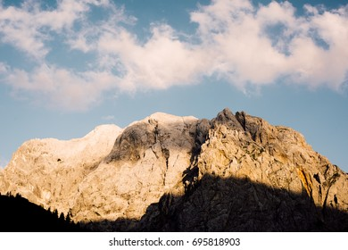 Beautiful landscape/ mountain and clouds