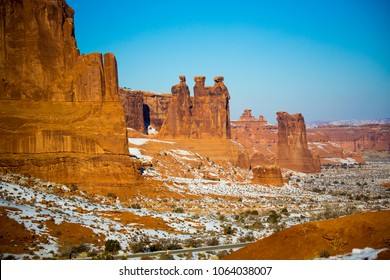 Beautiful Landscape of National Monument in the - Colorado - USA